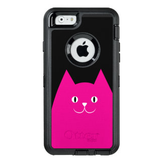 Pink Cat OtterBox iPhone 6/6s Case