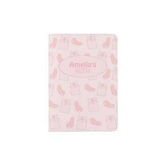 Pink Cats and Jellybeans Passport Holder