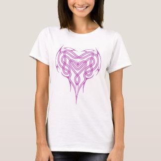 Pink Celtic Heart Knot T-Shirt