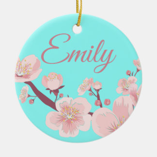 Pink Ceramic Ornament