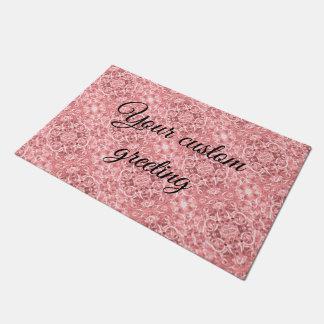 Pink Chain Links Photo 0284 Doormat