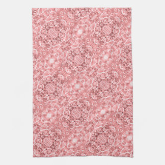 Pink Chain Links Photo 0284 Kitchen Towel