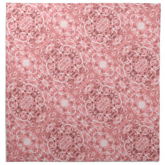 Pink Chain Links Photo 0284 Napkin