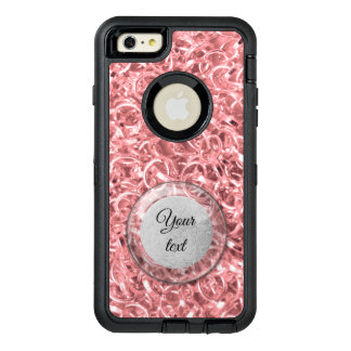 Pink Chain Links Photo 0284 OtterBox Defender iPhone Case