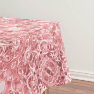 Pink Chain Links Photo 0284 Tablecloth