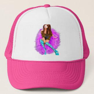 Pink Chair Trucker Hat