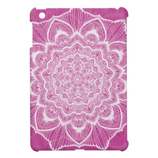 Pink Chakra Blossom, boho, new age, spiritual iPad Mini Cover