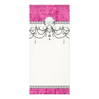 pink chandelier vintage writing background rack card template background pink chandelier