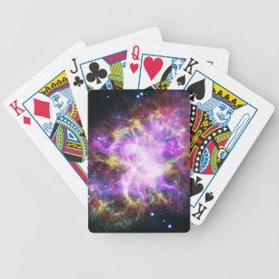 pink nebula playing cards - 307×307