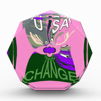 Pink Change  Hillary USA We Are Stronger Together.