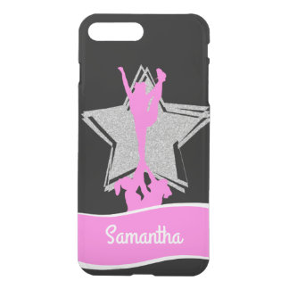 Pink Cheerleader Flyer personalized iphone 7 case