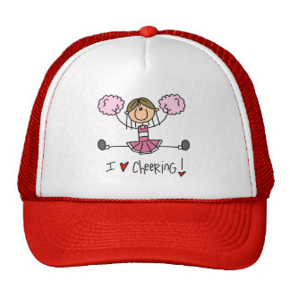 Pink Cheerleader Trucker Hat