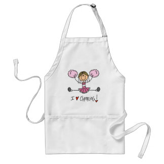 Pink Cheerleader Tshirts and Gifts Standard Apron
