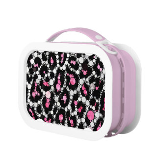 Pink Cheetah Bling YUBO Lunchbox