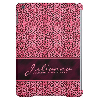 Pink Cheetah Feminine Custom iPad Air Cover