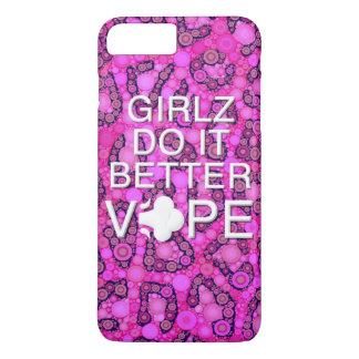 Pink Cheetah Girly Vape iPhone 7 Plus Case