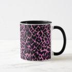 Pink Cheetah Pattern Mug