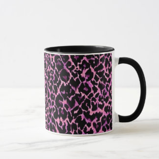 Pink Cheetah Pattern Mug