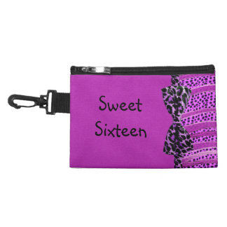 Pink Cheetah Sweet Sixteen Zebra Stripes Accessories Bags