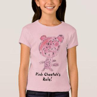 Pink Cheetah's Rule! T-Shirt