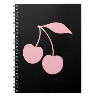 Pink Cherries Notebooks