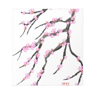 Pink Cherry Blossom 31, Tony Fernandes Notepads