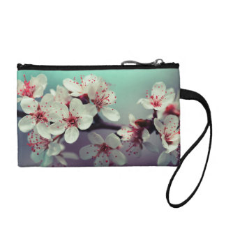Pink Cherry Blossom, Cherryblossom, Sakura Coin Purse