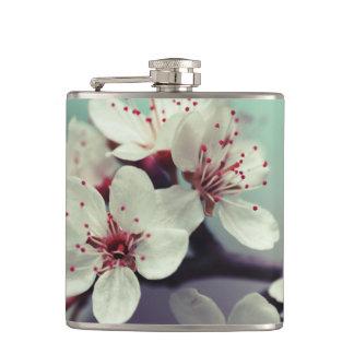Pink Cherry Blossom, Cherryblossom, Sakura Hip Flask