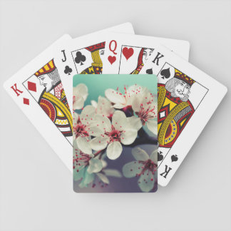 Pink Cherry Blossom, Cherryblossom, Sakura Playing Cards