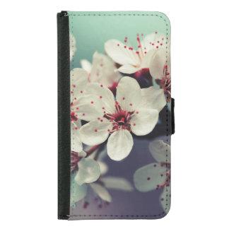 Pink Cherry Blossom, Cherryblossom, Sakura Samsung Galaxy S5 Wallet Case
