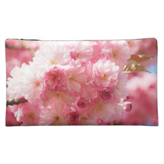 Pink Cherry Blossom Makeup Bag