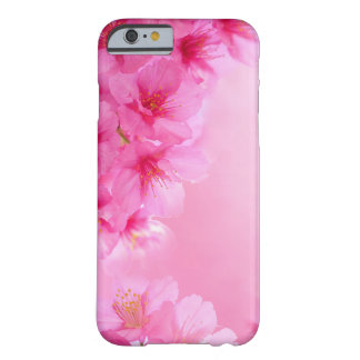 Pink Cherry Blossoms Barely There iPhone 6 Case
