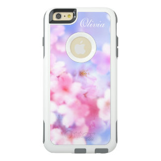 Pink Cherry Blossoms Elegant Watercolor OtterBox iPhone 6/6s Plus Case