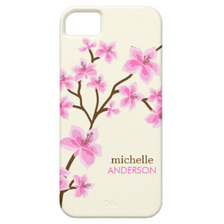 Pink Cherry Blossoms Tree iPhone 5 Case