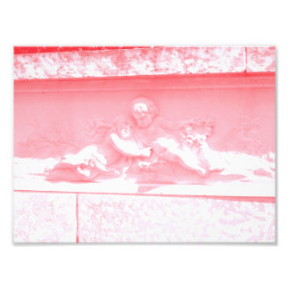 Pink Cherubim Art Photo