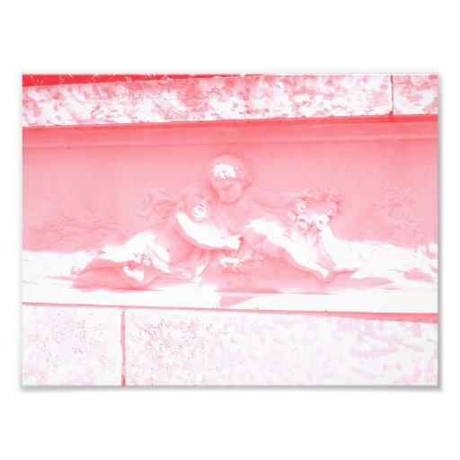 Pink Cherubim Photo Print