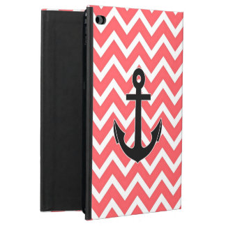 Pink Chevron Anchor Powis iPad Air 2 Case