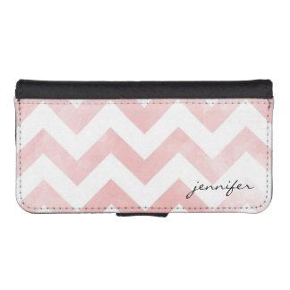 Pink Chevron Smartphone Wallet Case Phone Wallet