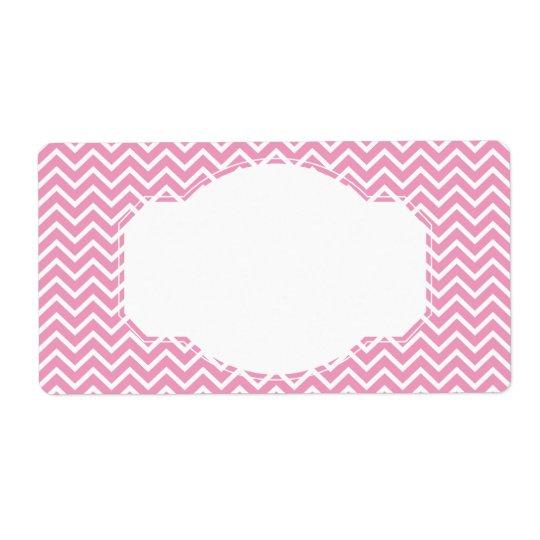 Pink Chevron Zigzag Stripes