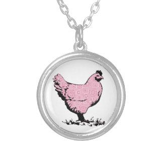 Pink Chicken! Necklace