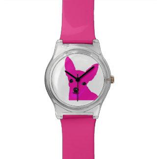 Pink Chihuahua Watch