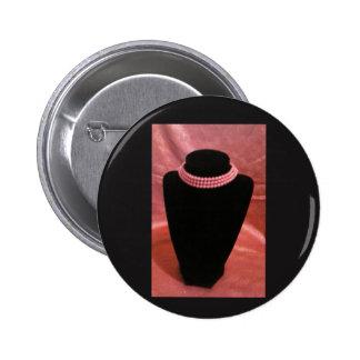 pink choker button