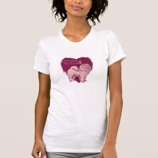 pink chow chow T-Shirt