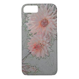 Pink Chrysanthemum iPhone case