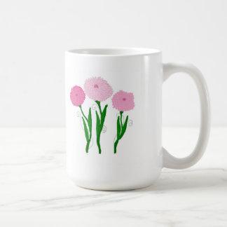 Pink Chrysanthemums Coffee Mug