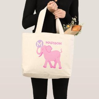 Pink Circus | Baby Girl Cute Elephant Diaper Bag