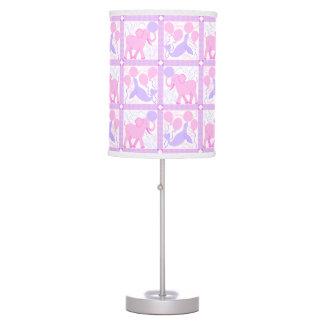 Pink Circus | Baby Girl Nursery Elephant Animal Table Lamp