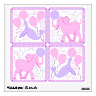 Pink Circus | Baby Girl Nursery Wall Decor DIY