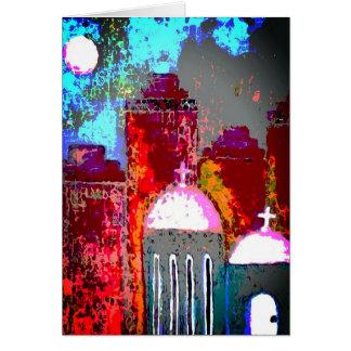 Pink City Church Card