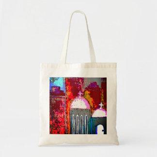 Pink City Church Tote Bag